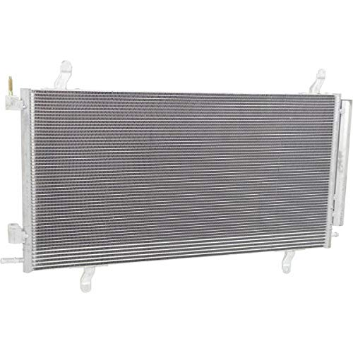 Make Auto Parts Manufacturing Aluminum A/C Condenser With Receiver Drier For Chevrolet Camaro Coupe/Covertible 2012 2013 2014 2015 - GM3030302 (A/c Condenser Camaro Chevrolet)