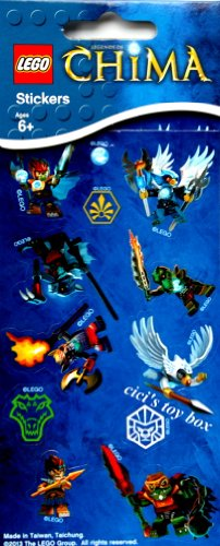 LEGO Legends of Chima Stickers