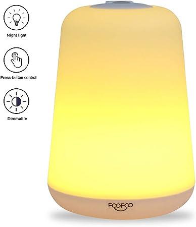 Lamp Bedside Nightlight Breastfeeding Light with 60 Lumens