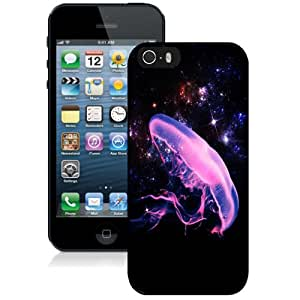Fashion DIY Custom Designed iPhone 5s Generation Phone Case For Starry Sky and Jellyfish Phone Case Cover