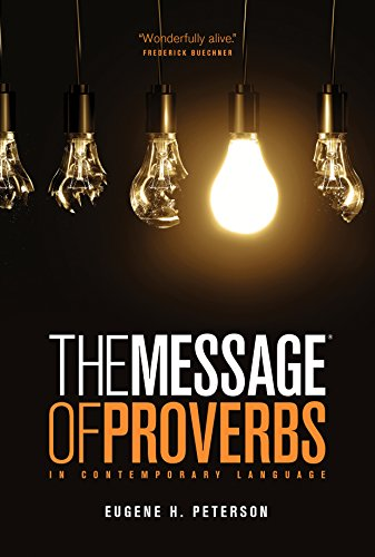 The Message Of Proverbs (First Book Challenge)