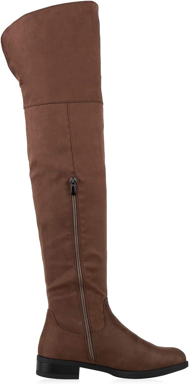 2020 Neu Das billigste Guter Verkauf SCARPE VITA Damen Stiefel Overknees Leicht Gefüttert mit Blockabsatz Schlamm 1TAkJ 7z3uY KfewA