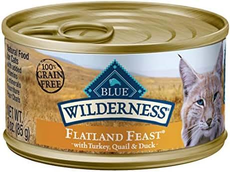 Cat Food: Blue Buffalo Wilderness Flatland Feast