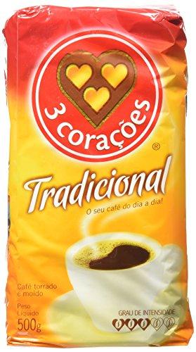 3 Corações Traditional Coffee 500 Grams