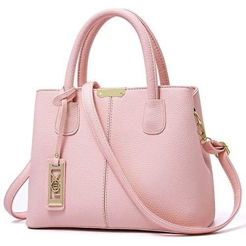 Pink Satchel Handbags - 1