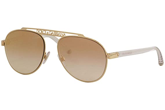 Dolce & Gabbana 0DG2235 Gafas de sol, Pink Gold, 57 para ...