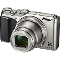 Nikon COOLPIX A900 Digital Camera (Silver) (International Model No Warranty)