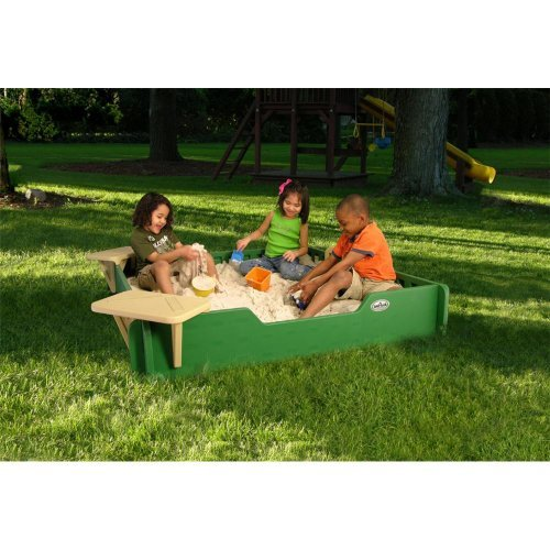 5x5 SandLock Sandbox - Corner Sandbox Seats