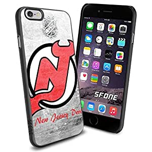 New Jersey Devils NHL, #1376 Hockey iPhone 6 (4.7) Case Protection Scratch Proof Soft Case Cover Protector by mcsharks
