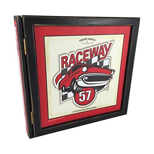 Nascar Shelf - Sababa / Front Porch Bookshelf Raceway 57