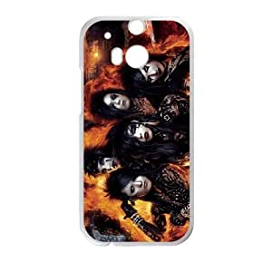 HTC One M8 Phone Case for BVB Classic theme Black Veil Brides pattern design GQCTBKVBS773214