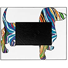 CafePress - Psychedelic Doxie Dachshund - Decorative 8x10 Picture Frame