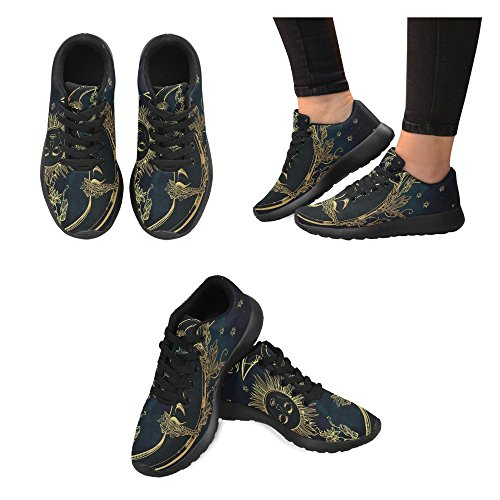 Interestprint Mujeres Jogging Running Sneaker Ligero Go Easy Walking Casual Comfort Deportes Zapatillas De Running Multi 3