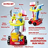 Kids Cleaning Set and Gardening Tools 24pcs