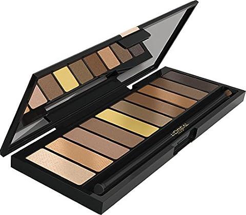 L'Oreal La Palette Nude Eyeshadow 10 piece - (Palette Designer)