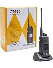 Radio Ricetrasmettitore Dual Band VHF/UHF portatile 10W - CT990 - MIDLAND C1339