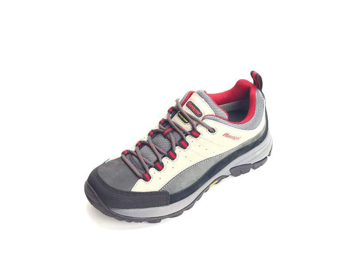 Adong Hanagal Herren Wanderschuhe Bergsteigen Stiefel Wasserdichte Schuhe Rutschfeste Atmungsaktive Outdoor Schuhe Wasserdichte Schuhe,B,44EU