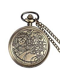 Doctor Who Bronze Women Mens Quartz Pocket Watch, Gift for Men - Ahmedy Pocket Watch