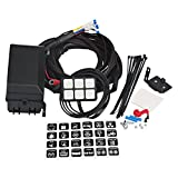 WATERWICH 6 Gang Switch Panel Electronic Relay System Circuit Control Box Waterproof Fuse Relay Box Wiring Harness Assemblies DC12V For Car Auto Truck Boat Marine RV Caravan Yacht
