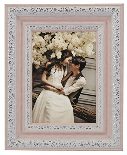 Lilian PC Polymer Environmental Exquisite Desktop Picture Frames, Pink, - Frames Pink