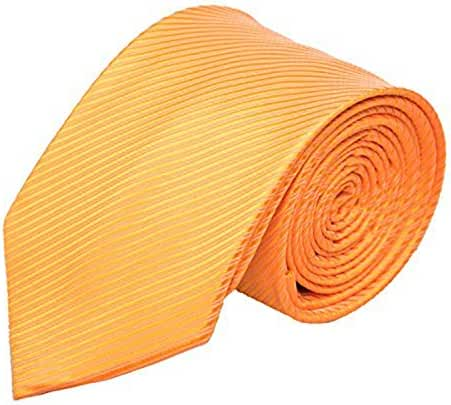 Alizeal Men's 8CM Width Stripes Formal Self Tie Neckties