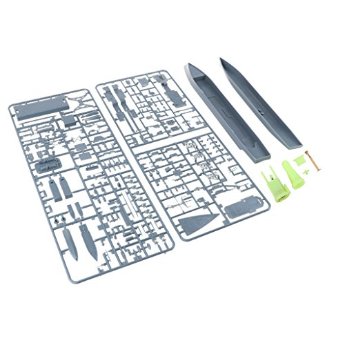 MagiDeal 1/700 Unassemble Unpainted USS Spruance Destroyer DD963 Ship Model Toy Gift