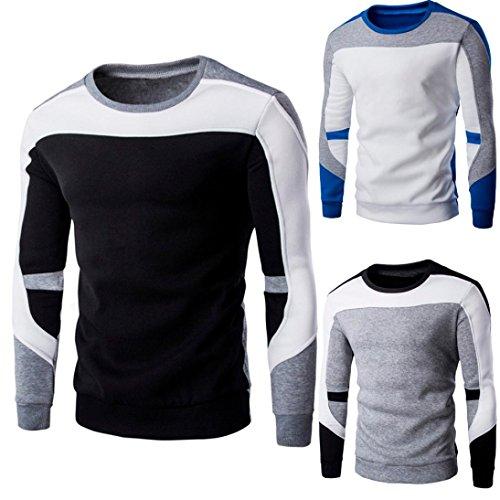 Veste À Manteau Homme Capuche Manches Patchwork Covermason Casual Sweatshirts Pull Sweat Pullover Noir Longues shirt Tops Sweat PTfpqw