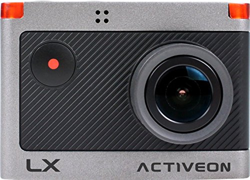 ACTIVEON LX HD Action Camera Black/Gray LKA10W