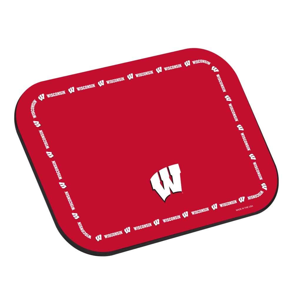 NCAA Collegiate Placemats - University of Wisconsin Badgers - Set of 4