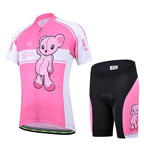 Fisher Sleeve Cartoon Cycling Jersey