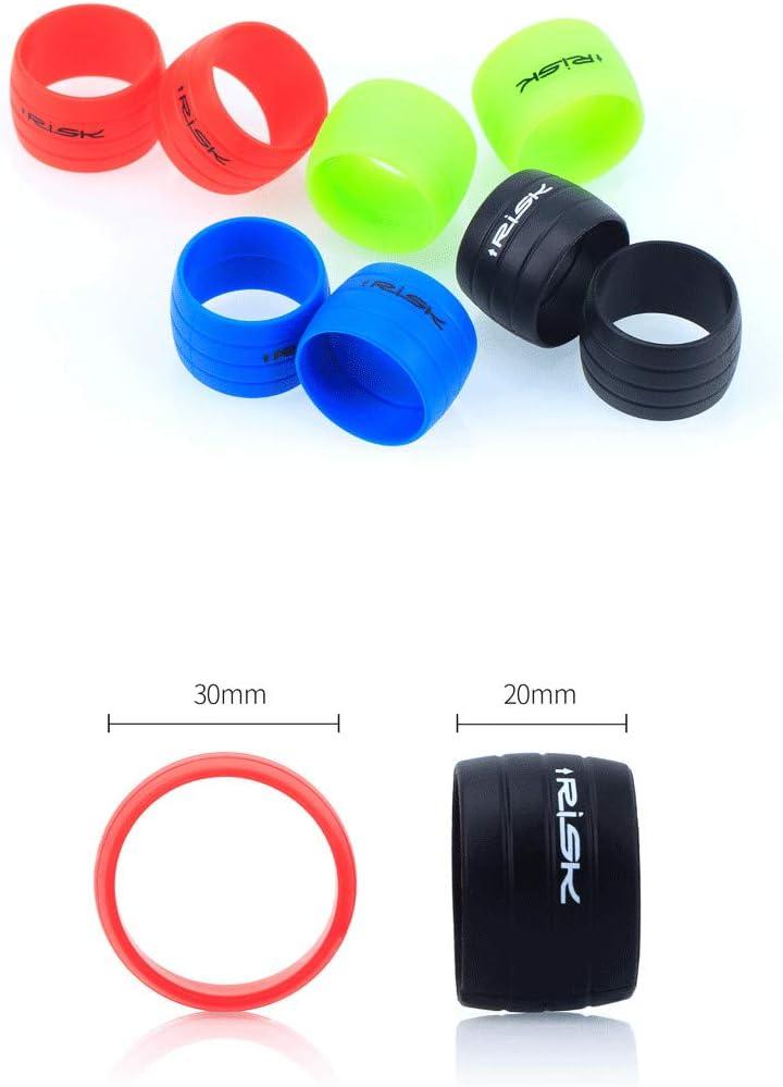 TWEET Bike Handlebar Tape Retaining Ring,Bicycle Bar Tape Fixed,A Pair of Silicone Rings