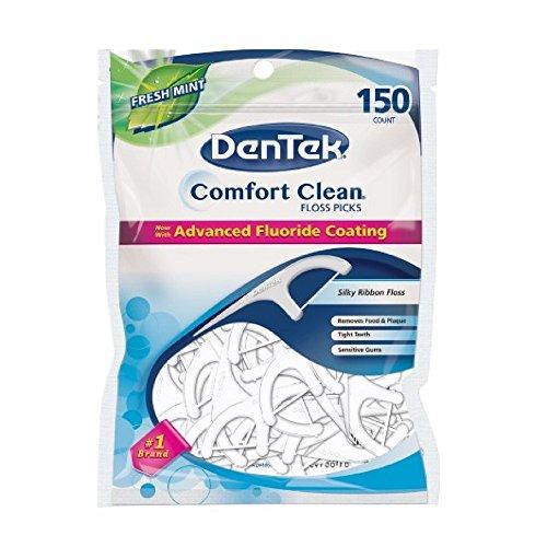 DenTek Comfort Clean Floss picks - 150 ct
