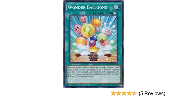 Near Mint 3 x Wonder Balloons NECH-EN055 1st Edition - Common