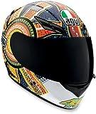 AGV K3 Dreamtime Helmet - Medium/Orange/Blue
