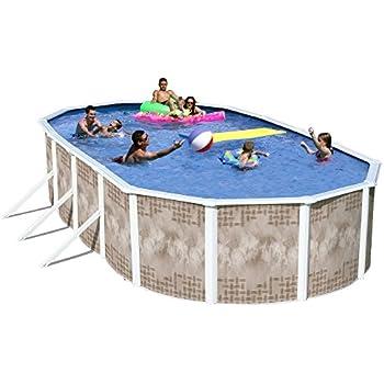 heritage yo 241252sfp yosemite complete above ground pool 24 feet x 12 feet x 52 inch