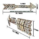 TreasuresDeck Wooden Arrow Wall Decor - Set of 2