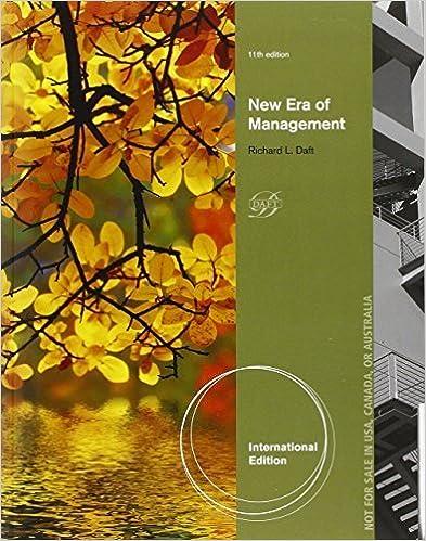 Book New Era Management by Richard L. Daft (2013-05-28)