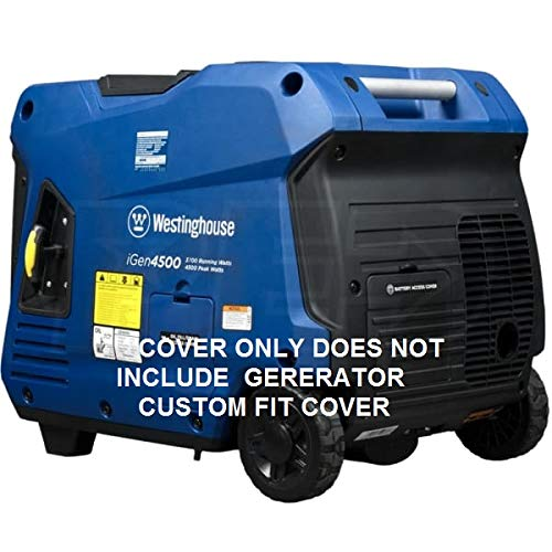 GCD Westinghouse igen 4500 Inverter Generator Cover (Black) Cover ONLY
