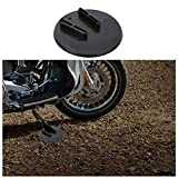 For Harley Davidson Touring Motorcycle Kickstand Jiffy Stand Coaster Pad Puck