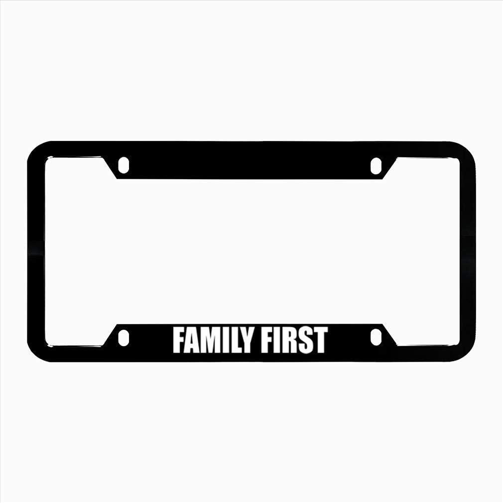 DIY Rine 12x 6 Aluminum Metal License Plate Frame Humor License Plate Frame Cover Holder Car Tag Frame 4 Hole Screws
