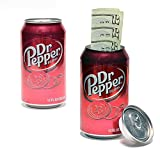 Diversion Can Safe Disguised Secret Stash Hider Dr. Pepper