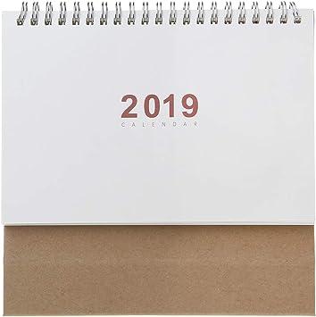 New 2020 Agenda Organizer Notepad Desk Table Calendar Kraft Paper Schedule US