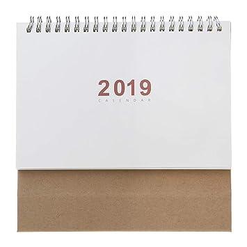 ecmqs calendario papel - 2019 debout de escritorio Bobina ...
