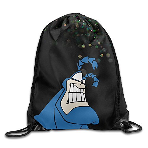 Boomy The Tick Drawstring Backpack For Men & Women Outdoor Gym Beach Hiking Use (The Tick Costume For Sale)