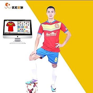 59f8d2a3d (Minimum order 10 pcs) custom team soccer uniforms plain red football  jersey custom soccer