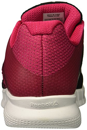 Women's Reebok White Black Overtly Track Instalite Pink Run Shoe wwd16qr