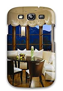 Forever Collectibles Curved Banquette And Breakfast Nook Nestled In Front Of Window Hard Snap-on Galaxy S3 Case