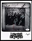 LYNYRD SKYNYRD 8X10 AUTOGRAPH FULL BAND PHOTO