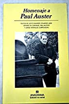 HOMENAJE A PAUL AUSTER. by AA.VV.