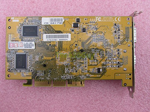 Asus V8170DDR/D/64M NVIDIA GeForce4 MX440 64MB DDR 64-bit VGA/DVI AGP Video Card ()